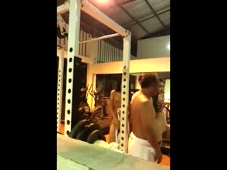 Gym-Brothel only for VIP clients