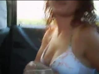 Gypsy Girl Blowjob and Creampie In The Car 2