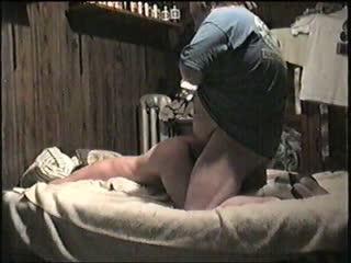 Pervert Grandpa: Unprotected Sex with Teen Hooker