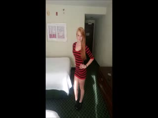 Redhead Escort Blowjob and sex in motel for $ 300