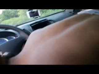 Romanian prostitute quick blowjob in my car