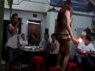 Girl Vietnam is Stripper and juggler