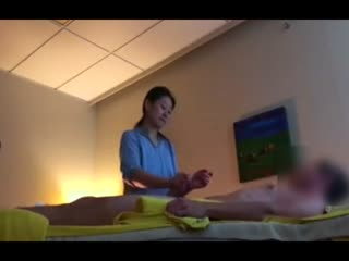 Asian masseuse teaches me techniques to control premature ejaculation