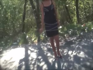 Sex in the forest with gypsy prostitute 2