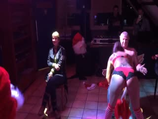 Surprise for my wife with two strippers