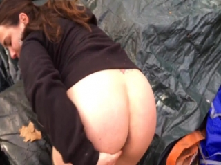Milf gipsy whore bareback sex and facial cum