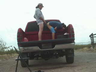Sex in my truck with thai mature whore