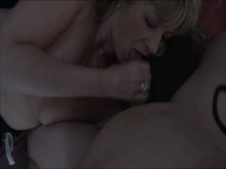 French Prostitute fucks without condom and cum facial