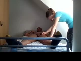 Massage Therapist at Home and handjob final