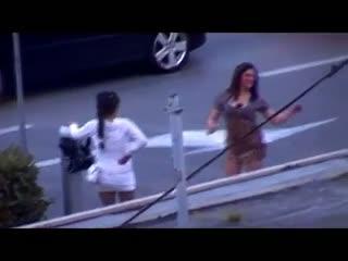 Strange Streetwalkers Dancing in Rome