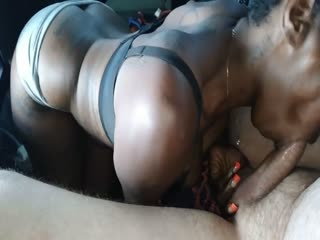 St Louis Street Blowjob and creampie 16